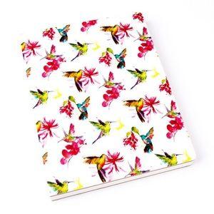 paper destiny Office - Paper Destiny Harmonic Hummingbirds Fabric Journal